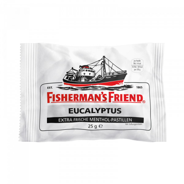 Fisherman's Friend Eucalyptus mit Zucker