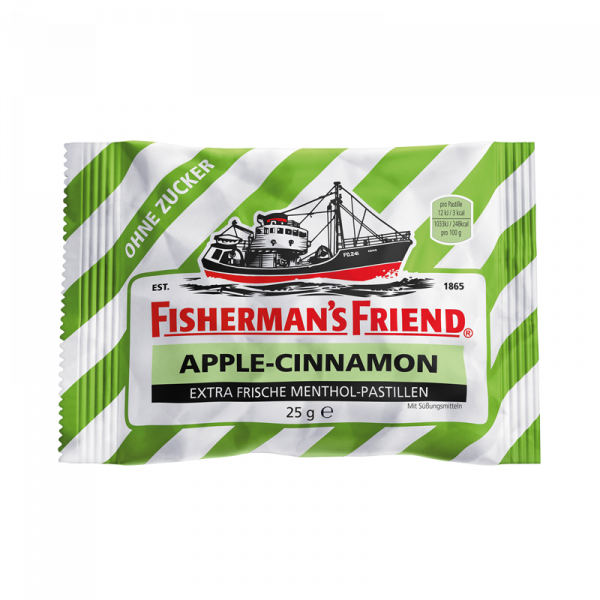 Fisherman's Friend Apple-Cinnamon ohne Zucker