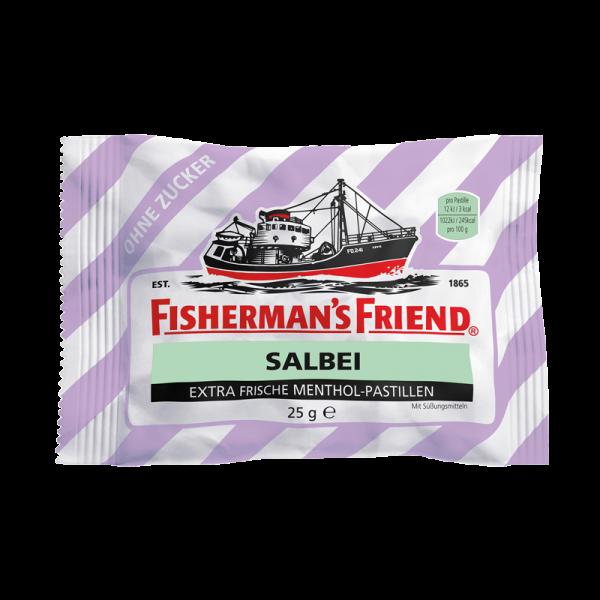 Fisherman's Friend Salbei ohne Zucker