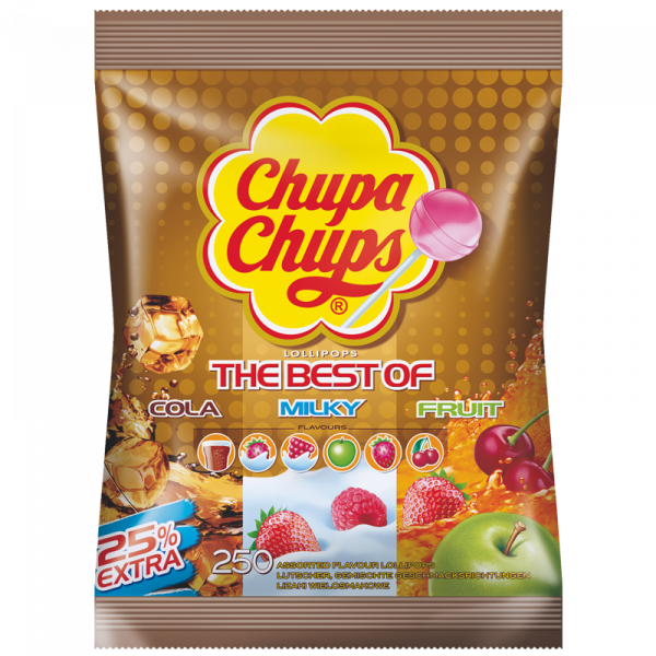 Chupa Chups The Best Of 250er Beutel