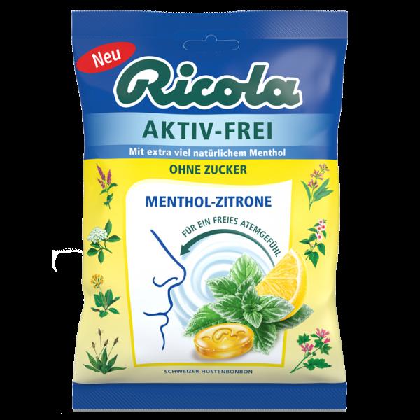 AKTIV-FREI Menthol-Zitrone, 75g Beutel