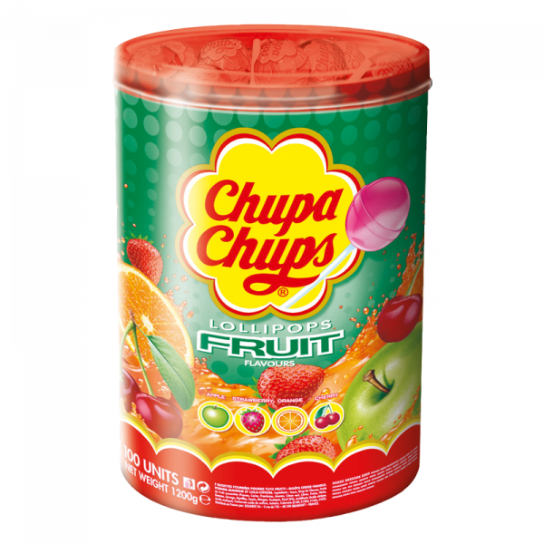 Chupa Chups Frucht 100er Dose