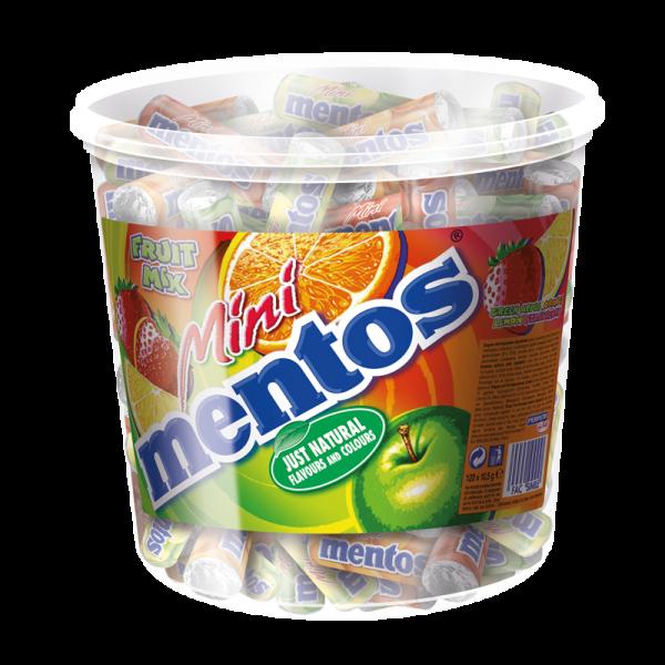 Mentos Mini Frucht 120er Dose