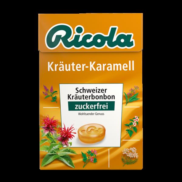 Kräuter-Karamell, 50g Box
