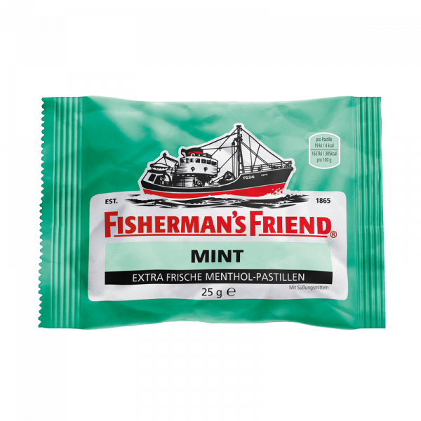Fisherman's Friend Mint mit Zucker
