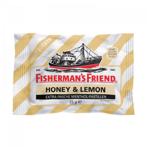 Fisherman's Friend Honey & Lemon ohne Zucker