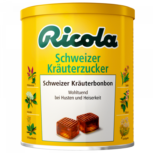 Schweizer Kräuterzucker, 250g Dose