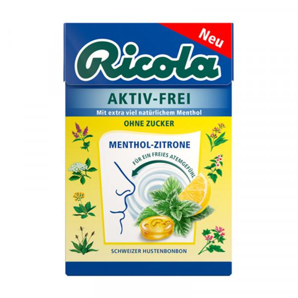 AKTIV-FREI Menthol-Zitrone, 50g Box