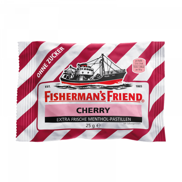 Fisherman's Friend Cherry ohne Zucker