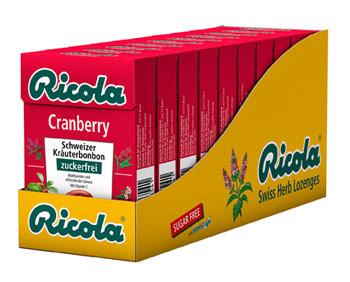 Cranberry 10x50g Böxli