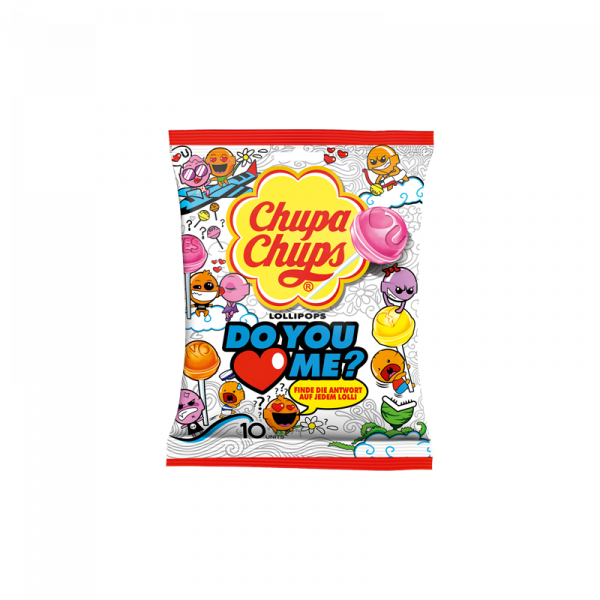 Chupa Chups Do You Love Me 10er Beutel