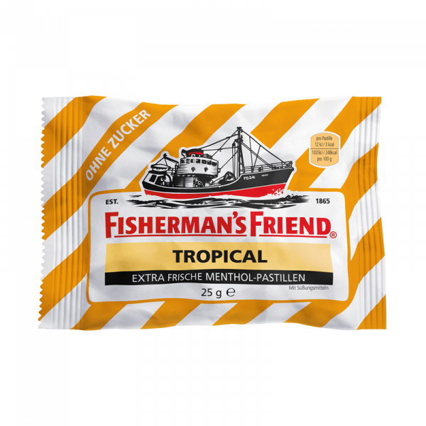 Fisherman's Friend Tropical ohne Zucker