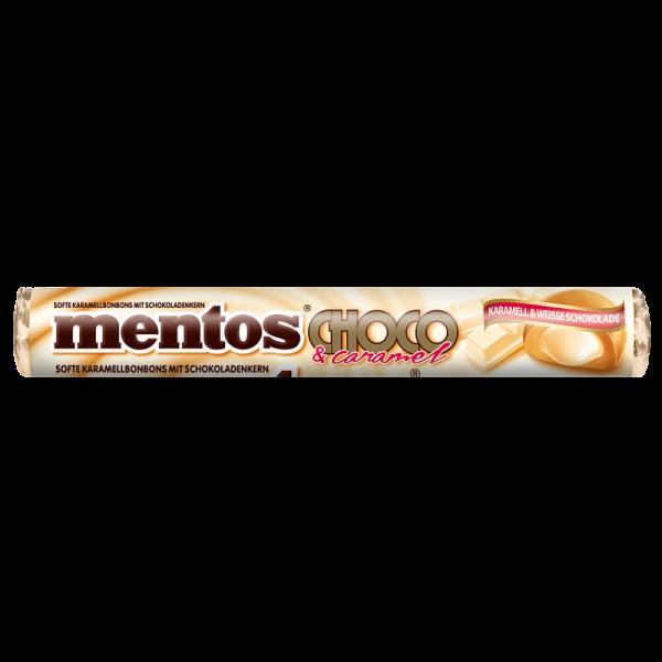 Mentos Choco Karamell & Weisse Schokolade