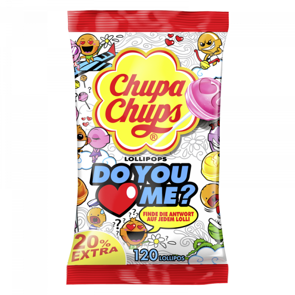 Chupa Chups Do You Love Me 120er Beutel