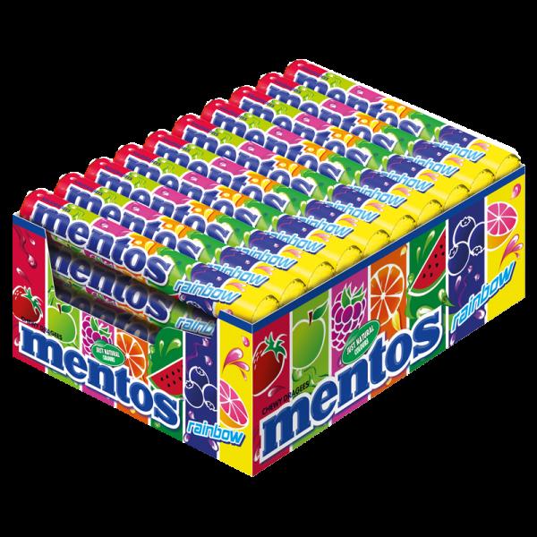 Mentos Rainbow 40er
