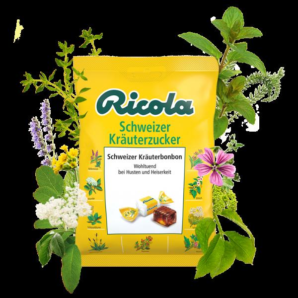 Schweizer Kräuterzucker, 75g Beutel