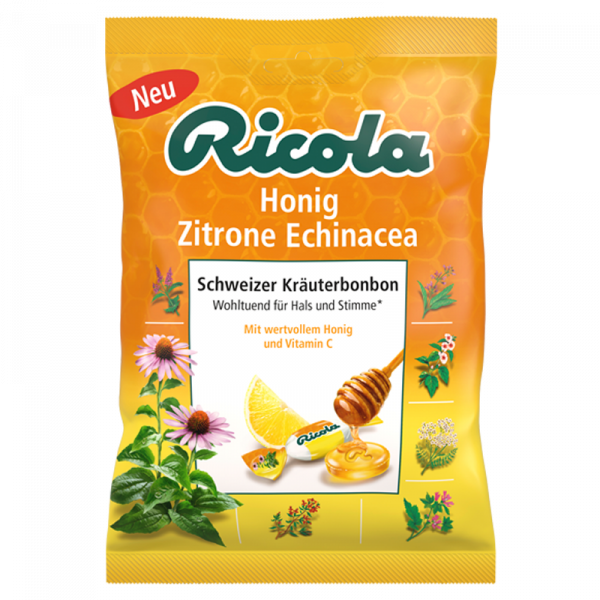Honig Zitrone Echinacea, 75g Beutel