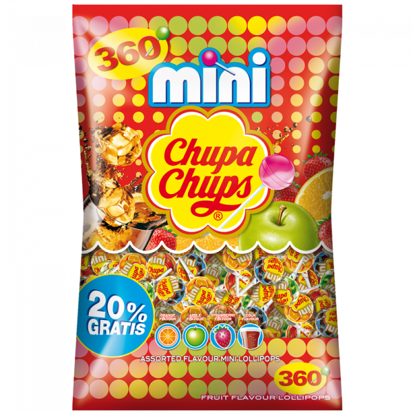 Chupa Chups Mini 360er Beutel