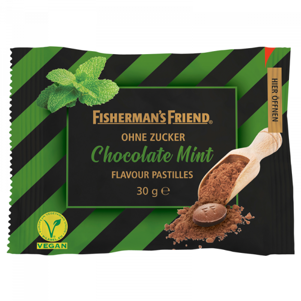 Fisherman's Friend Chocolate Mint ohne Zucker