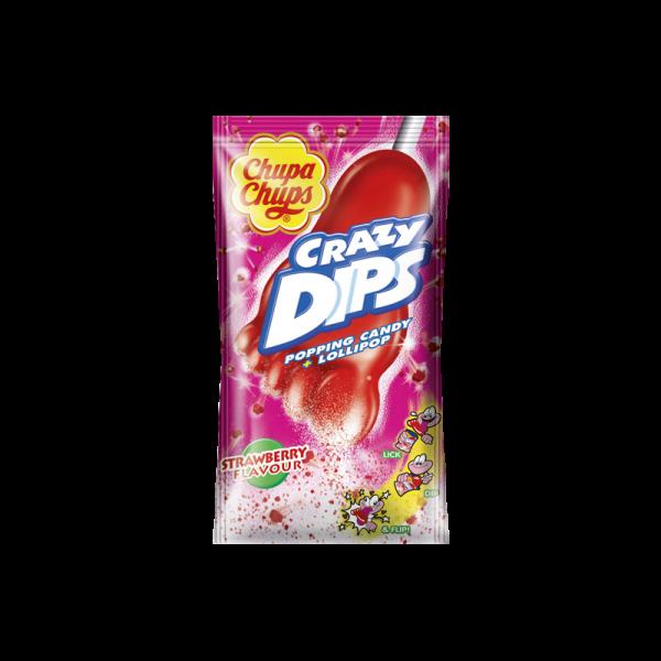 Chupa Chups Crazy Dips Erdbeere